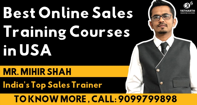 Online Sales Training Courses In USA - Yatharth Ma